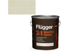 Flügger Wood Tex Classic 2v1 (dříve Flügger 2v1 Classic) - lazurovací lak- 0,75L -odstín U-600