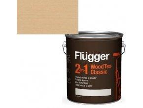 Flügger Wood Tex Classic 2v1 (dříve Flügger 2v1 Classic) - lazurovací lak- 0,75L -odstín U-601