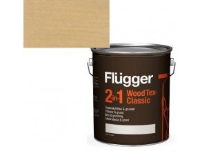 Flügger Wood Tex Classic 2v1 (dříve Flügger 2v1 Classic) - lazurovací lak- 0,75L -odstín U-602