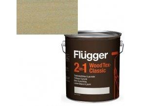Flügger Wood Tex Classic 2v1 (dříve Flügger 2v1 Classic) - lazurovací lak- 0,75L -odstín U-603