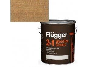 Flügger Wood Tex Classic 2v1 (dříve Flügger 2v1 Classic) - lazurovací lak- 0,75L -odstín U-605