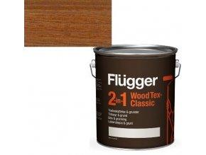 Flügger Wood Tex Classic 2v1 (dříve Flügger 2v1 Classic) - lazurovací lak- 0,75L -odstín U-607