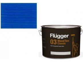 Flügger Wood Tex - Classic 03 Semi-transparent (dříve 96 Classic) - lazurovací lak- 0,75L -odstín U-497