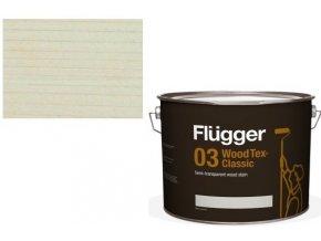 Flügger Wood Tex - Classic 03 Semi-transparent (dříve 96 Classic) - lazurovací lak- 0,75L -odstín U-600