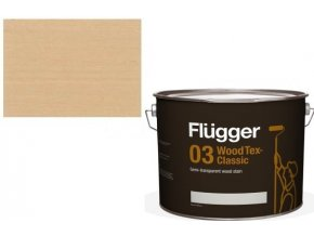 Flügger Wood Tex - Classic 03 Semi-transparent (dříve 96 Classic) - lazurovací lak- 0,75L -odstín U-601