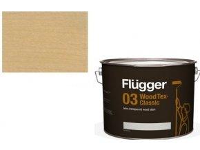Flügger Wood Tex - Classic 03 Semi-transparent (dříve 96 Classic) - lazurovací lak- 0,75L -odstín U-602