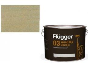 Flügger Wood Tex - Classic 03 Semi-transparent (dříve 96 Classic) - lazurovací lak- 0,75L -odstín U-603