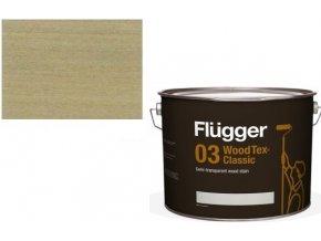 Flügger Wood Tex - Classic 03 Semi-transparent (dříve 96 Classic) - lazurovací lak- 0,75L -odstín U-604