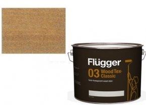 Flügger Wood Tex - Classic 03 Semi-transparent (dříve 96 Classic) - lazurovací lak- 0,75L -odstín U-605