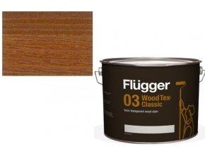 Flügger Wood Tex - Classic 03 Semi-transparent (dříve 96 Classic) - lazurovací lak- 0,75L -odstín U-607