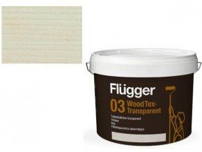 Flügger Wood Tex Aqua 03 Transparent (dříve 95 Aqua) -lazurovací lak - 0,75L odstín U600