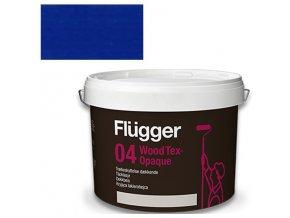 Flügger Wood Tex Aqua 04 Opaque (dříve 98 Aqua) - lazurovací lak - 0,7l odstín RAL 5002