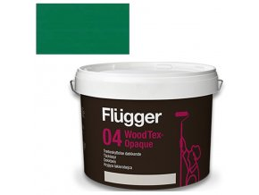 Flügger Wood Tex Aqua 04 Opaque (dříve 98 Aqua) - lazurovací lak - 0,7l odstín RAL 6029