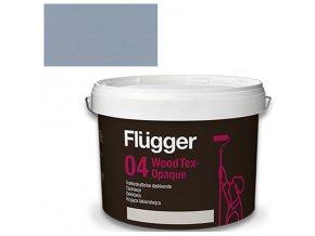 Flügger Wood Tex Aqua 04 Opaque (dříve 98 Aqua) - lazurovací lak - 0,7l odstín RAL 7001
