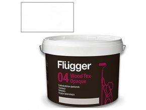 Flügger Wood Tex Aqua 04 Opaque (dříve 98 Aqua) - lazurovací lak - 3l odstín bílá  + dárek dle vlastního výběru k objednávce