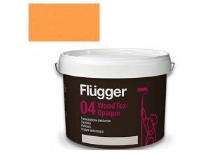 Flügger Wood Tex Aqua 04 Opaque (dříve 98 Aqua) - lazurovací lak - 3l odstín RAL 1033  + dárek dle vlastního výběru k objednávce