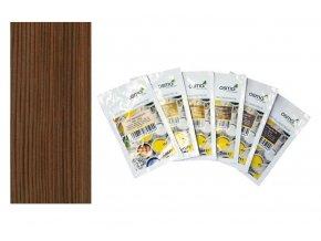 Vzorek - Osmo terasový olej  thermo dřevo 010