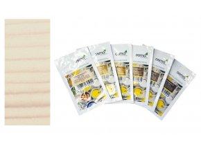 Vzorek - Osmo dekorační vosk intenzivní odstíny  Bílá matná 3186