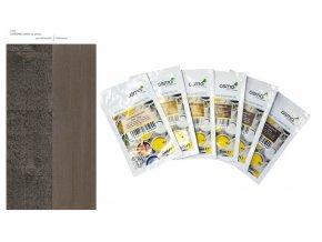 Vzorek - Osmo Ochranná olejová lazura - Efekt  stříbrná onyx 1143