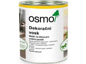 Osmo dekorační vosk transparentní 0,75l BEZBARVÁ 3101