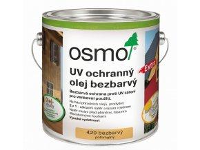 Osmo UV ochranný olej extra 25L BEZBARVÁ s ochranou nátěru 420