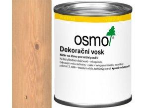 Osmo dekorační vosk transparentní 0,125l Buk lehce pařený 3102