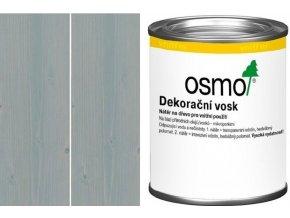 Osmo dekorační vosk transparentní 0,125l Hedvábně šedý 3119