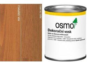 Osmo dekorační vosk transparentní 0,125l Třešeň 3137