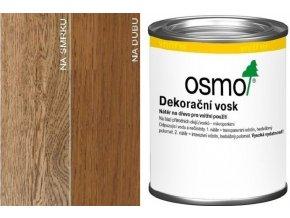 Osmo dekorační vosk transparentní 0,125l Koňak 3143