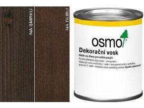 Osmo dekorační vosk transparentní 0,125l Ebenové dřevo 3161
