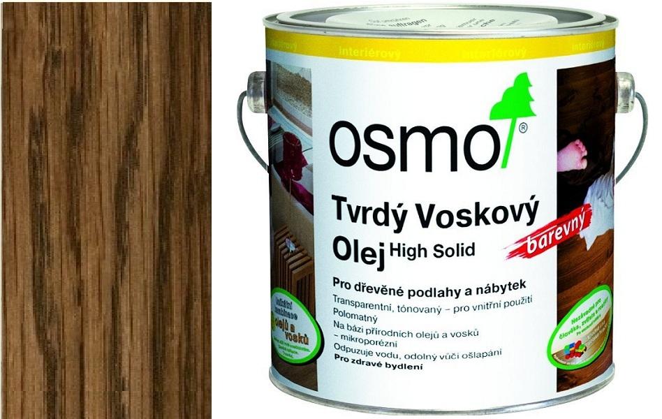 Osmo tvrdý voskový olej BAREVNÝ 2,5l Hnědá zem 3073