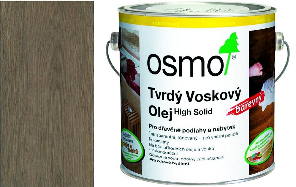Osmo tvrdý voskový olej BAREVNÝ 2,5l Grafit 3074