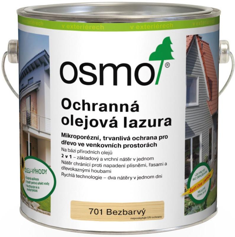 Osmo Ochranná olejová lazura 2,5l BEZBARVÁ 701