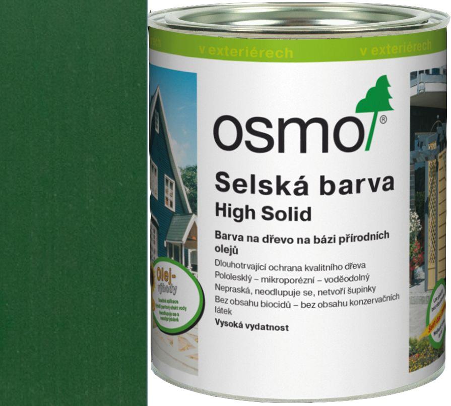 Osmo selská barva 2,5l jedlově zelená 2404