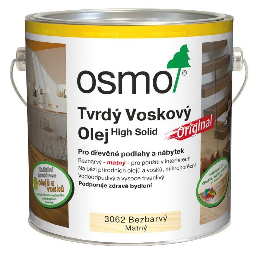 Osmo tvrdý voskový olej ORIGINAL 25l BEZBARVÁ, mat 3062