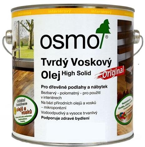 Osmo tvrdý voskový olej protiskluzový 2,5l BEZBARVÁ 3088