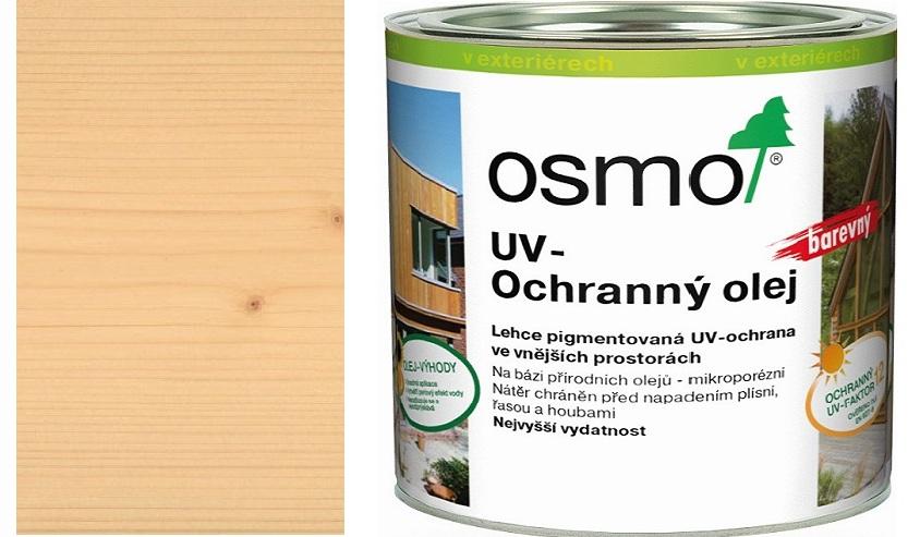 Osmo UV ochranný olej 2,5l smrk/jedle polomatný s ochranou nátěru 424