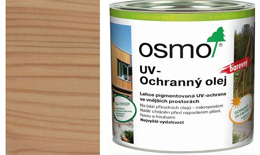Osmo UV ochranný olej 2,5l natural polomatný s ochranou nátěru 429