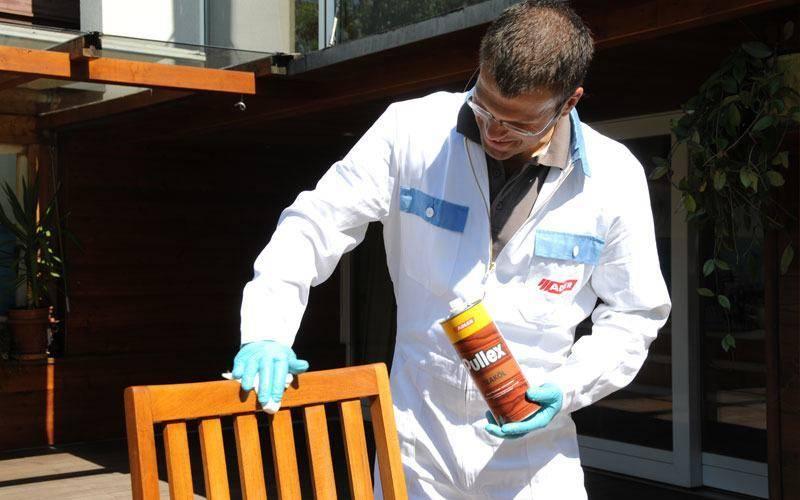 ADLER Pullex Teaköl - olej na zahradní nábytek