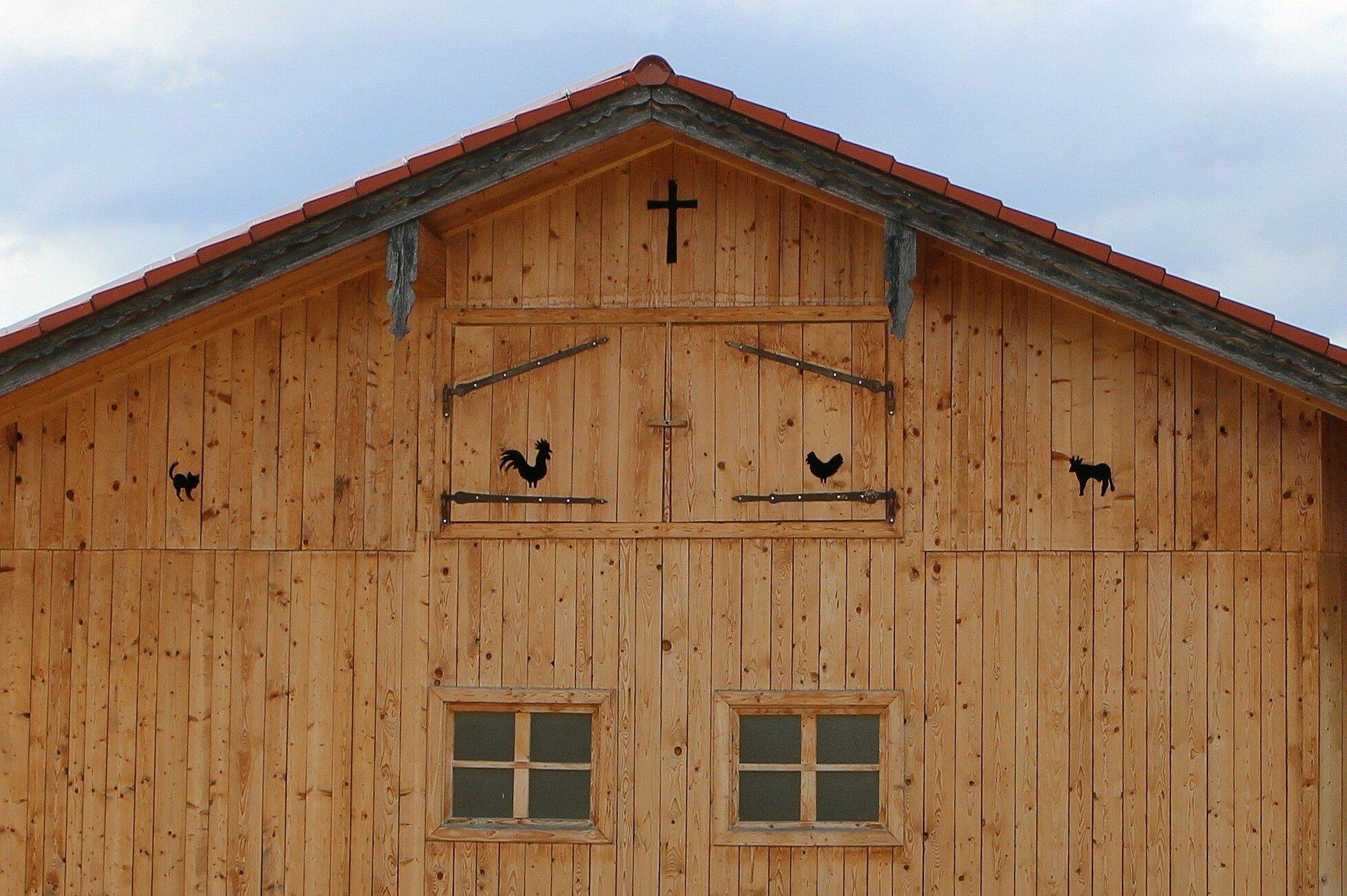 Barvy Adler - dřevěná fasáda