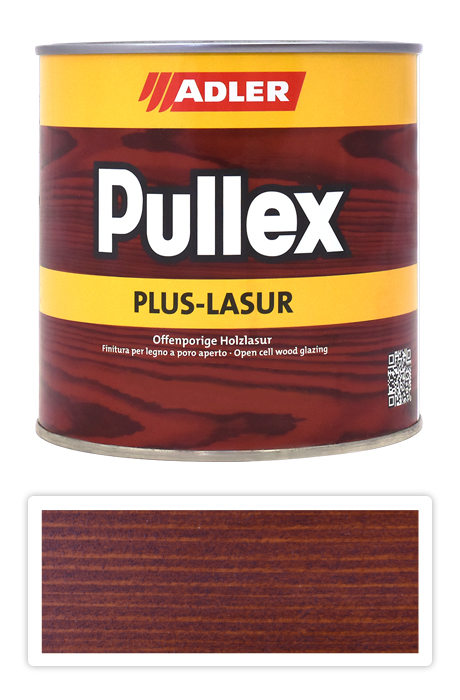ADLER Pullex Plus Lasur - tenkovrstvá lazura Odstín: Sipo, Velikost balení: 0,75L