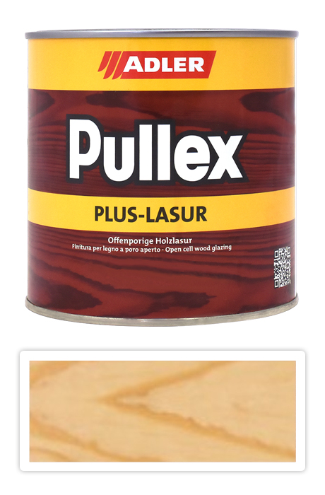 ADLER Pullex Plus Lasur - tenkovrstvá lazura Odstín: Bezbarvý / Farblos, Velikost balení: 0,75L