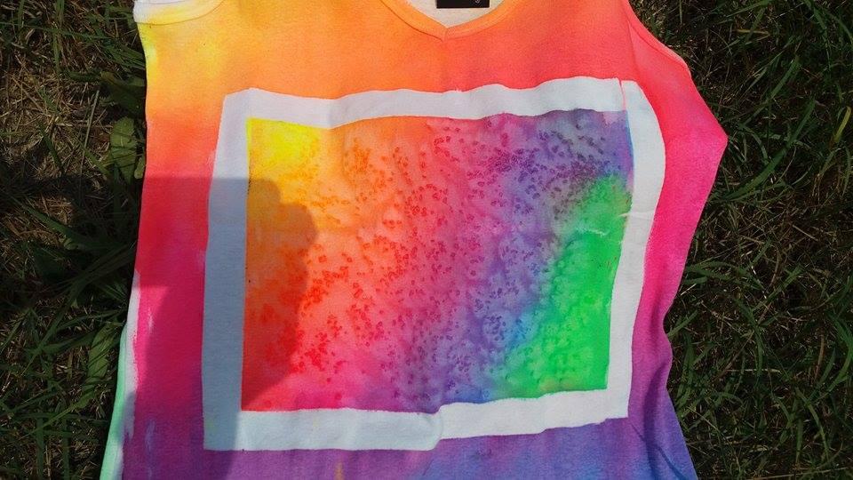 Návod UV barvy na světlý textil ARTEMISS