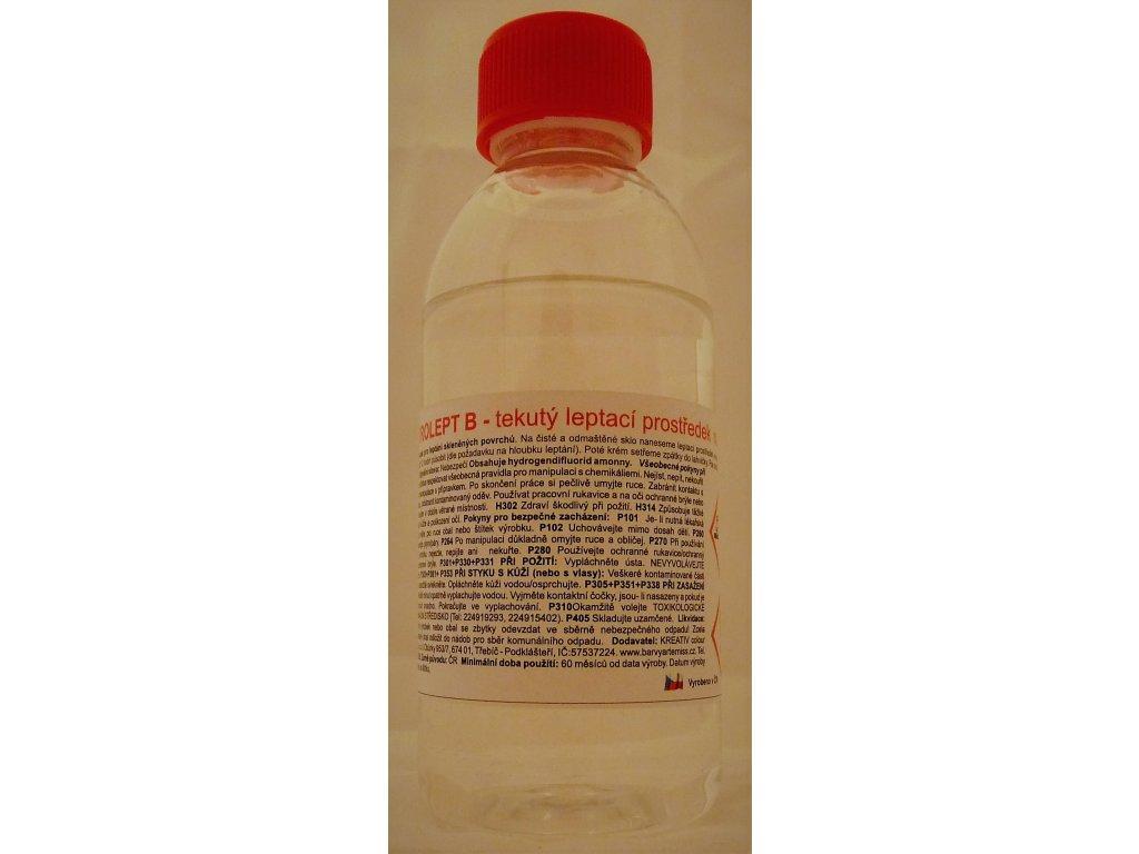Vitrolept leptací tekutina na sklo