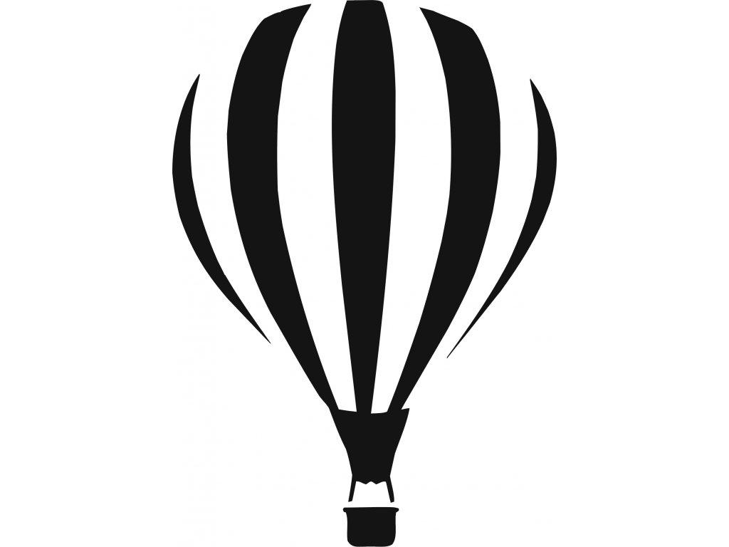 Lítací balon - plastová šablona 289
