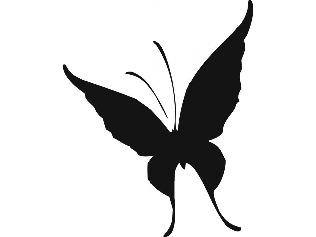 Motýl - plastová šablona 291