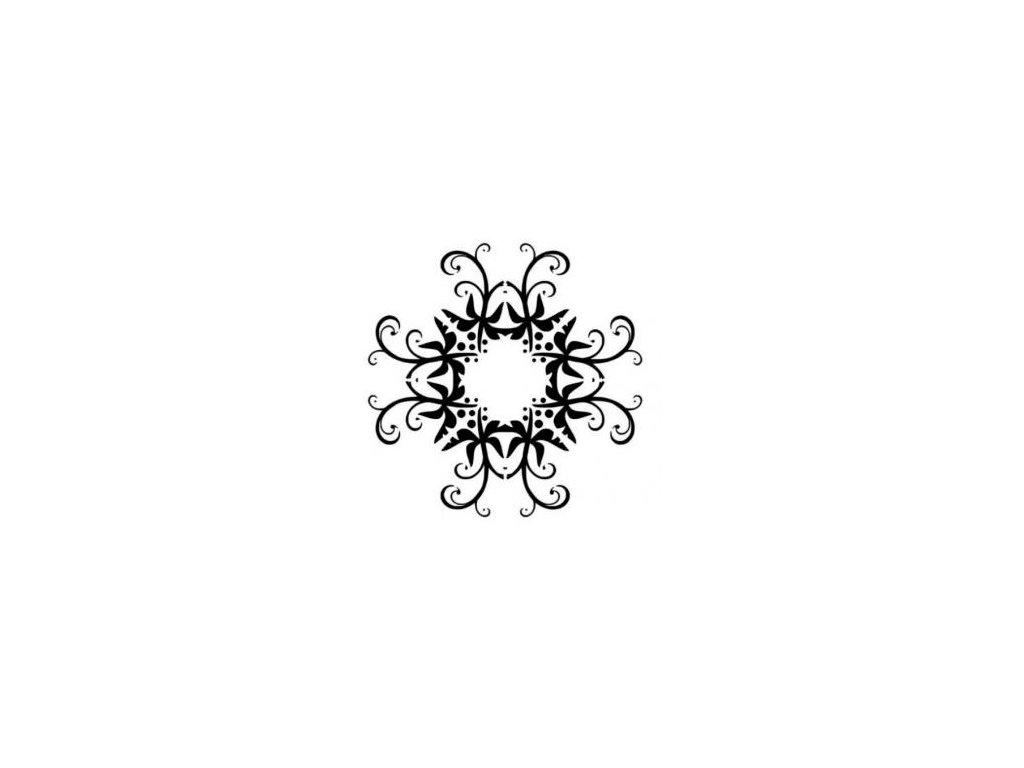 Mandala - plastová šablona 010
