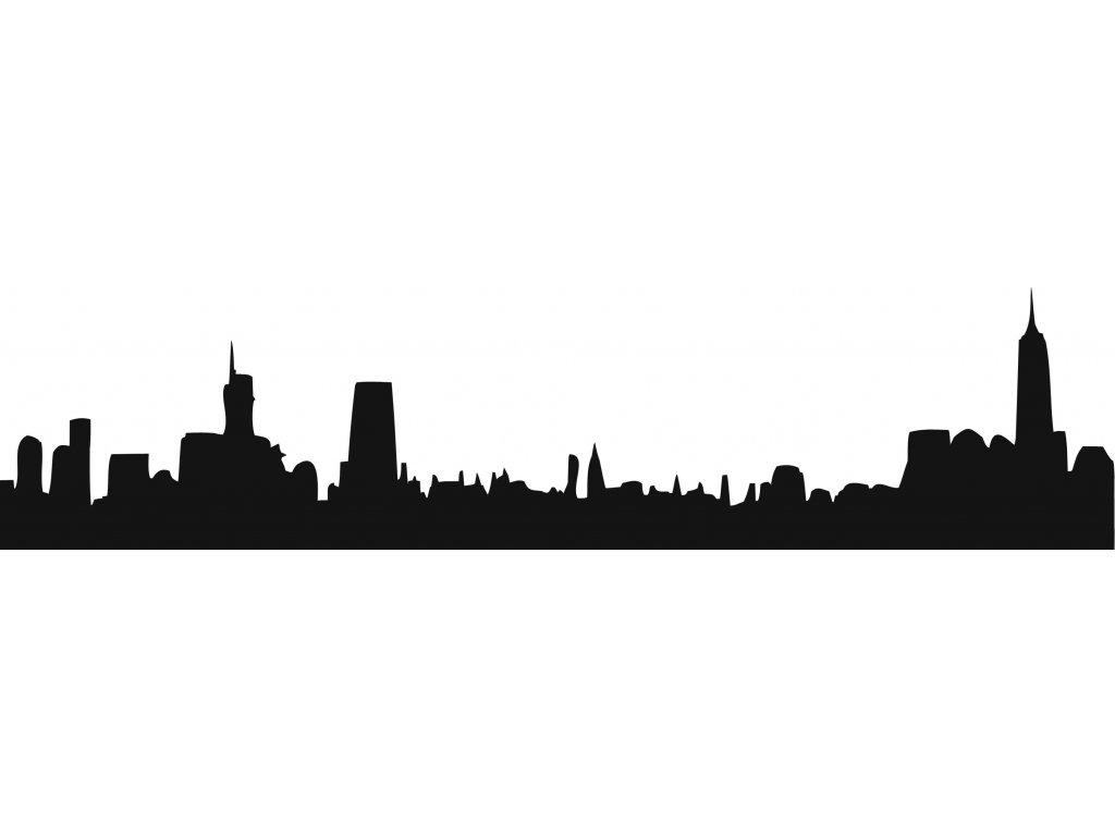 Město - plastová šablona 302