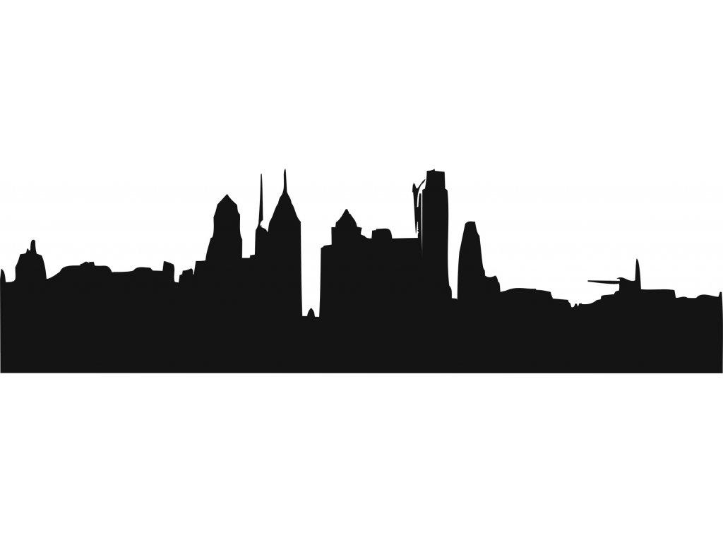 Město - plastová šablona 305