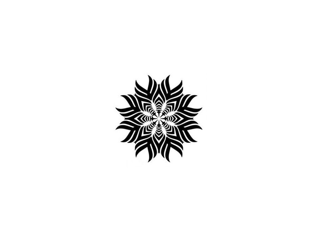 Mandala - plastová šablona 022